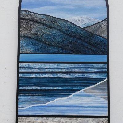 Soundscape - painting by Dean Bradley