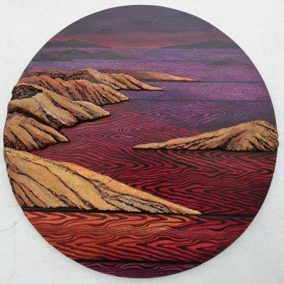 The Wine-Dark Sea, painting by Dean Bradley