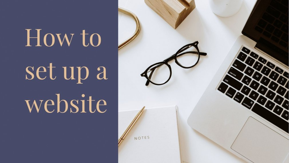 How to set up a website